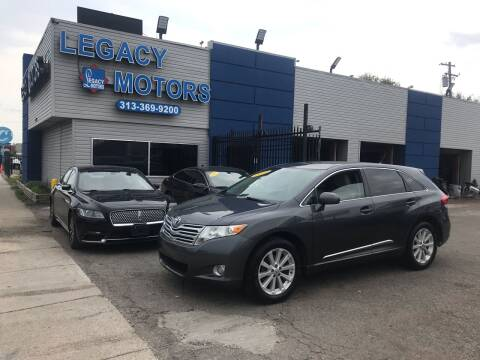 2012 Toyota Venza for sale at Legacy Motors in Detroit MI