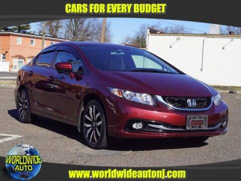 2015 Honda Civic for sale at Worldwide Auto in Hamilton NJ