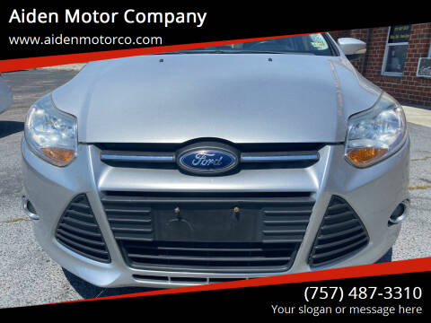 2013 Ford Focus for sale at Aiden Motor Company in Portsmouth VA