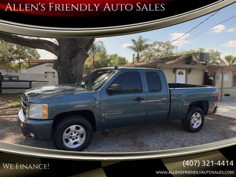 2007 Chevrolet Silverado 1500 for sale at Allen's Friendly Auto Sales in Sanford FL
