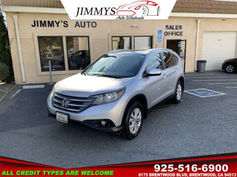 2013 Honda CR-V for sale at JIMMY'S AUTO WHOLESALE in Brentwood CA