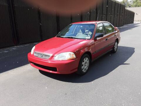 1998 Honda Civic for sale at METROPOLITAN MOTORS in Kirkland WA