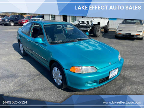 1994 Honda Civic for sale at Lake Effect Auto Sales in Chardon OH