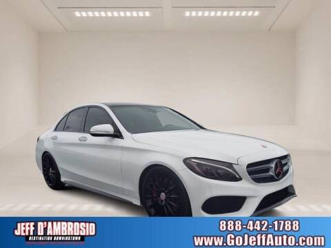 2015 Mercedes-Benz C-Class for sale at Jeff D'Ambrosio Auto Group in Downingtown PA