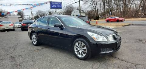 2008 Infiniti G35 for sale at Russo's Auto Exchange LLC in Enfield CT