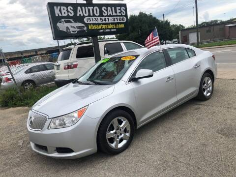 2010 Buick LaCrosse for sale at KBS Auto Sales in Cincinnati OH