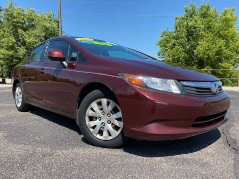 2012 Honda Civic for sale at UNITED Automotive in Denver CO