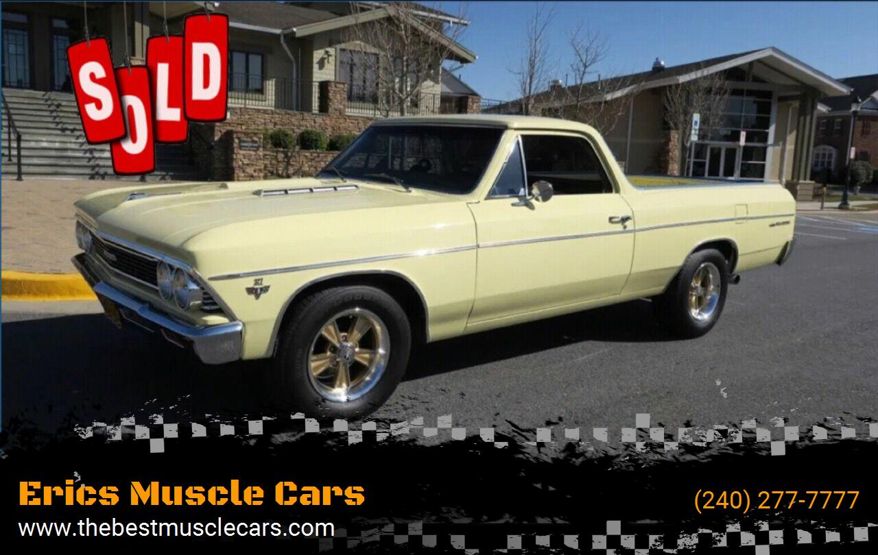 1966 Chevrolet El Camino SOLD SOLD SOLD