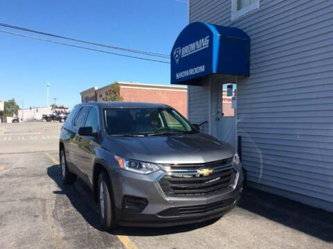 2020 Chevrolet Traverse for sale at Browning Chevrolet in Eminence KY