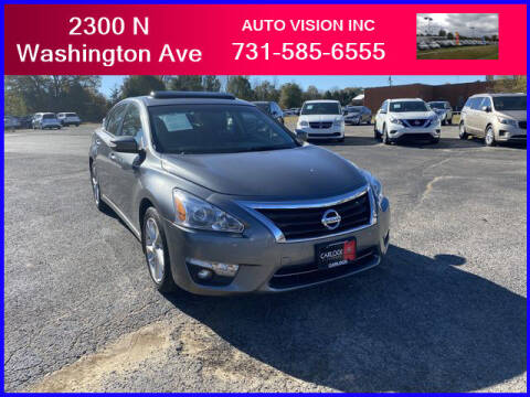 2014 Nissan Altima for sale at Auto Vision Inc. in Brownsville TN