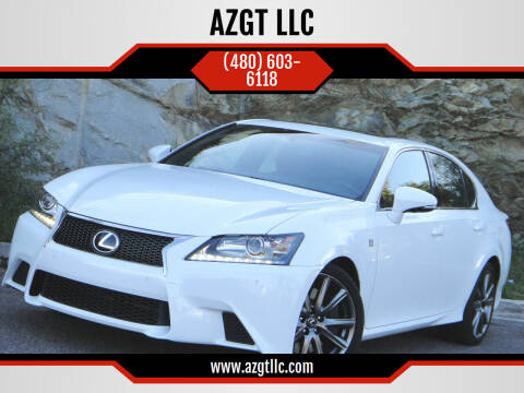 2015 Lexus GS 350 for sale at AZGT LLC in Phoenix AZ