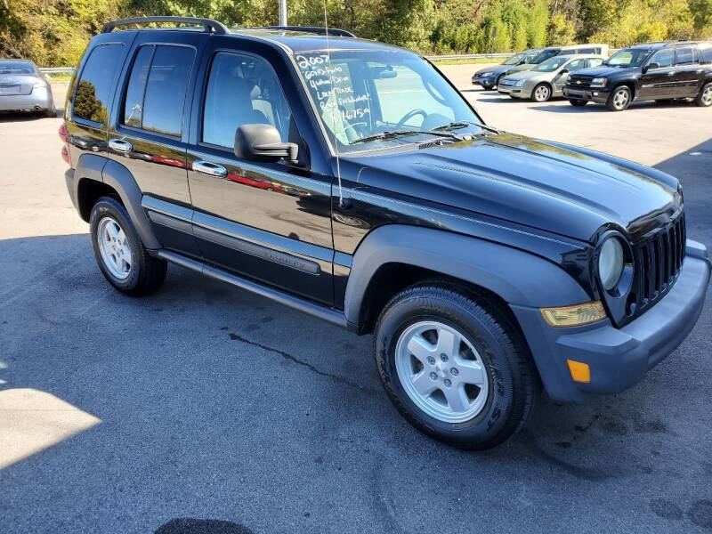 2007 Jeep Liberty for sale at DISCOUNT AUTO SALES in Johnson City TN