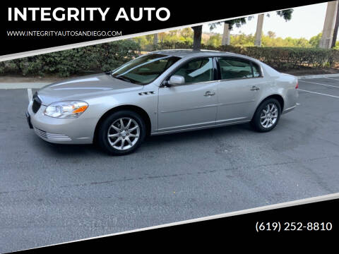 2007 Buick Lucerne for sale at INTEGRITY AUTO in San Diego CA