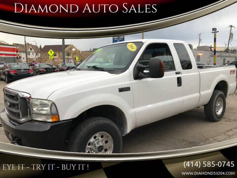 2004 Ford F-250 Super Duty for sale at Diamond Auto Sales in Milwaukee WI
