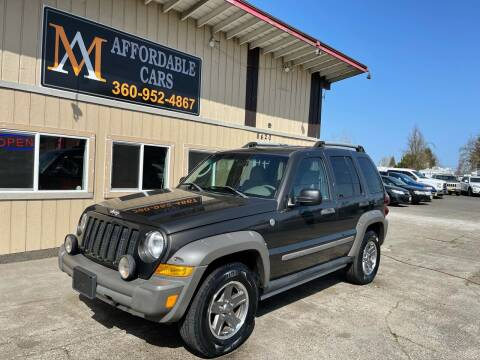 2005 Jeep Liberty for sale at M & A Affordable Cars in Vancouver WA