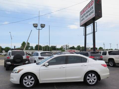 2010 Honda Accord for sale at United Auto Sales in Oklahoma City OK