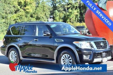 2017 Nissan Armada for sale at APPLE HONDA in Riverhead NY