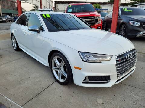 2018 Audi S4 for sale at LIBERTY AUTOLAND INC in Jamaica NY