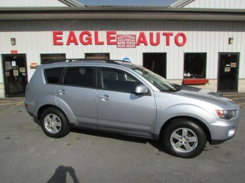 2010 Mitsubishi Outlander for sale at Eagle Auto Center in Seneca Falls NY