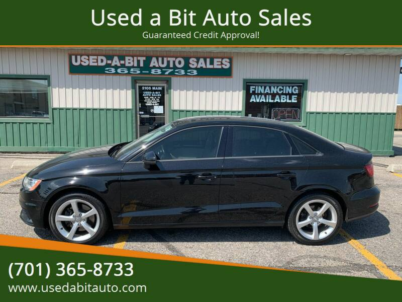 2016 Audi A3 for sale at Used a Bit Auto Sales in Fargo ND