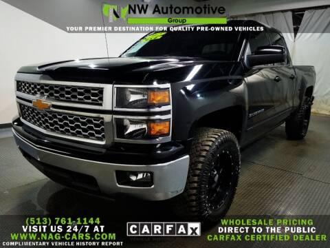 2015 Chevrolet Silverado 1500 for sale at NW Automotive Group in Cincinnati OH