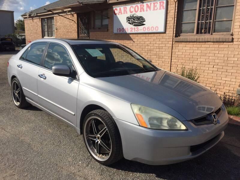 2004 Honda Accord for sale at Car Corner in Memphis TN