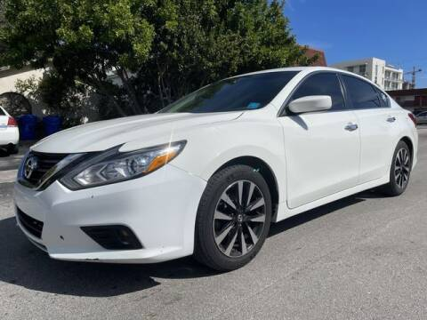 2018 Nissan Altima for sale at Meru Motors in Hollywood FL
