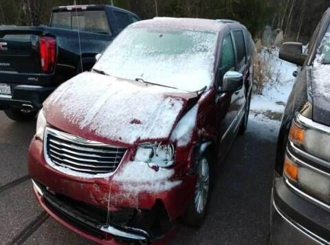 2013 Chrysler Town and Country for sale at CousineauCrashed.com in Weston WI
