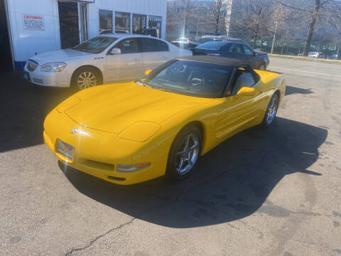 2002 Chevrolet Corvette for sale at Vuolo Auto Sales in North Haven CT