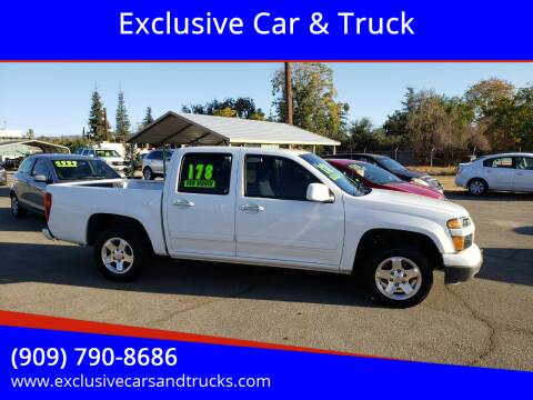2012 Chevrolet Colorado for sale at Exclusive Car & Truck in Yucaipa CA