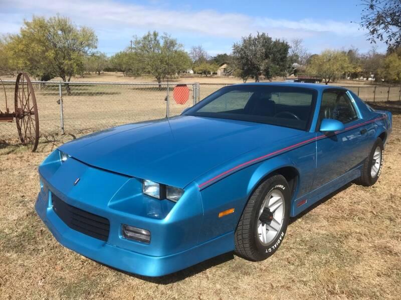 1990 Chevrolet Camaro for sale at Mafia Motors in Boerne TX