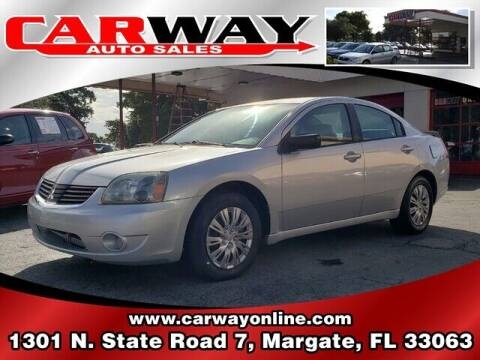 2007 Mitsubishi Galant for sale at CARWAY Auto Sales in Margate FL