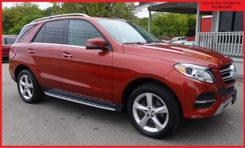 2016 Mercedes-Benz GLE for sale at USA AUTO CENTER in Austin TX