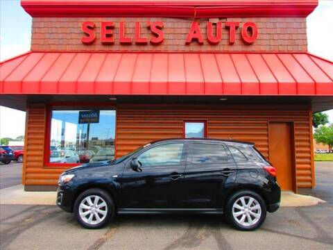 2014 Mitsubishi Outlander Sport for sale at Sells Auto INC in Saint Cloud MN
