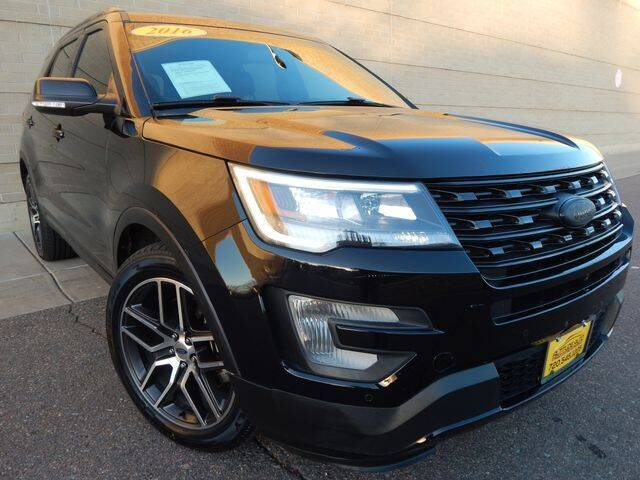 2016 Ford Explorer for sale at Altitude Auto Sales in Denver CO