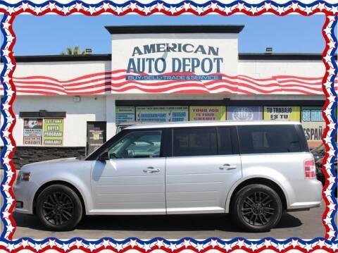 2014 Ford Flex for sale at American Auto Depot in Modesto CA