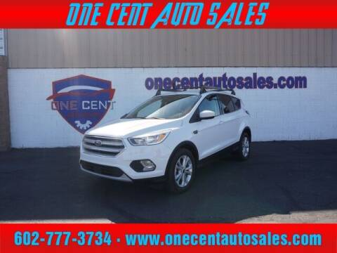 2018 Ford Escape for sale at One Cent Auto Sales in Glendale AZ
