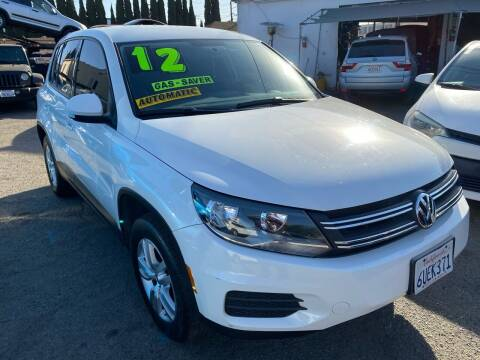 2012 Volkswagen Tiguan for sale at CAR GENERATION CENTER, INC. in Los Angeles CA