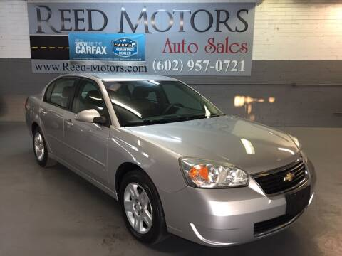 2007 Chevrolet Malibu for sale at REED MOTORS LLC in Phoenix AZ