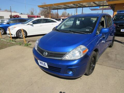 2010 Nissan Versa for sale at Nile Auto Sales in Denver CO