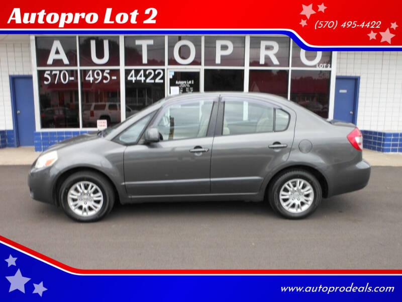 2012 Suzuki SX4 for sale at Autopro Lot 2 in Sunbury PA