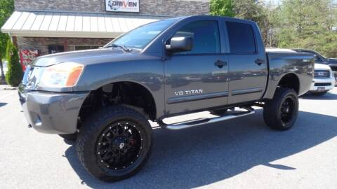 2012 Nissan Titan for sale at Driven Pre-Owned in Lenoir NC