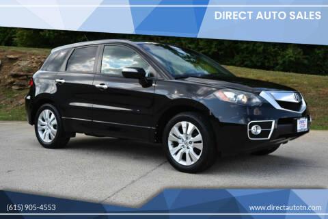 2010 Acura RDX for sale at Direct Auto Sales in Franklin TN