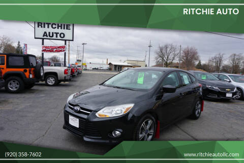 2012 Ford Focus for sale at Ritchie Auto in Appleton WI