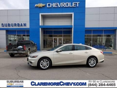 2016 Chevrolet Malibu for sale at Suburban Chevrolet in Claremore OK