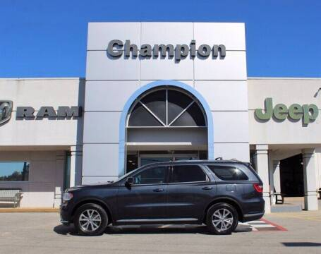 2016 Dodge Durango for sale at Champion Chevrolet in Athens AL