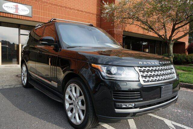 2017 Land Rover Range Rover for sale at Team One Motorcars, LLC in Marietta GA