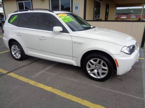 2008 BMW X3 for sale at BBL Auto Sales in Yakima WA