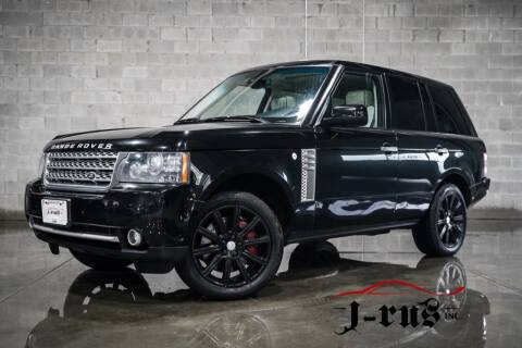 2010 Land Rover Range Rover for sale at J-Rus Inc. in Macomb MI