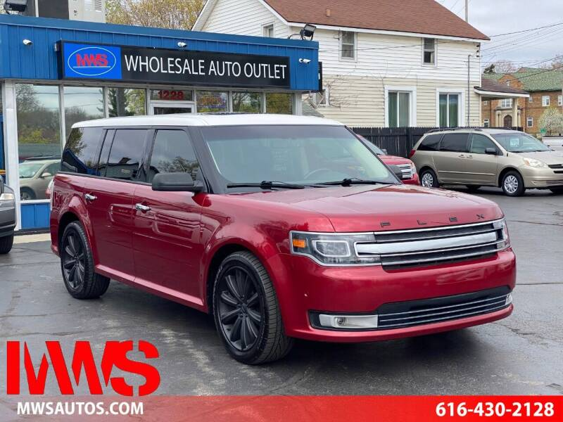 2013 Ford Flex for sale at MWS Wholesale  Auto Outlet in Grand Rapids MI